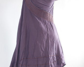Artistic collection...Adela dress basic full hand embroidery.