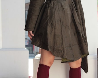 Brittany...2 Layers thick tunic  for autumn & winter size M  [D430]