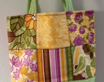 Patch work Tote