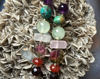 Gemstone Dangle Earrings
