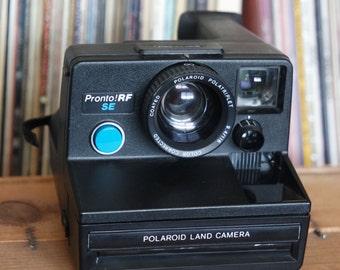 RARE 1970's Polaroid Pronto RF SE Instant Film Camera with Tripod Mount, Film-Tested & Working!