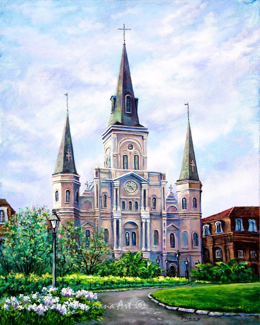 St louis cathedral new orleans bascilica on jackson square for Tattoo shops french quarter new orleans