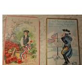 Antique Vintage George Washington Postcards - 1910