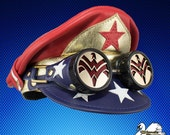 Bright Wonder Woman Inspired Crush Cap