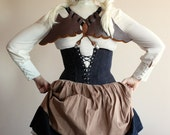 Steampunk Leather Wings Costume Accessory Handmade