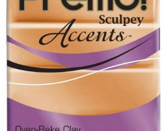 Copper Premo! Sculpey Oven-Bake Polymer Clay, 2 oz, Polymer Clay