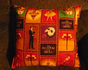 Phantom Of The Opera Pillow