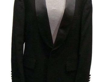 Vintage Men's Black Ralph Lauren Tux Jacket Vintage Dinner Jacket Vintage Jackets For Men Vintage Mens Clothing Vintage Mens Formal Wear