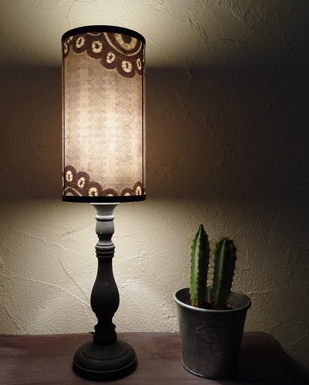 Black Lace Lamp Shade Lampshade Bedside Lamp Shade Goth