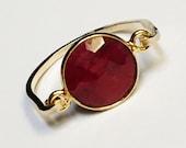 July Birthstone Ring, Ruby Gemstone Ring, 14K Gold Filled Ring, Ruby Ring, Gold Ring, Ruby Jewelry, Silver Ruby Ring, Gold Ruby Ring