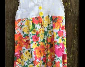 Upcycled dress size 6/7