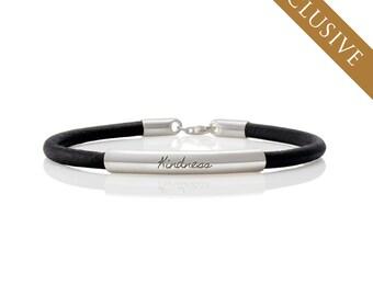 Men's Bracelet,KINDNESS,Mantra Cuff,Yoga Bracelet, Yoga Jewelry, Mantra Bracelet, Quote Bracelet, Stamped Bracelet, Inspirational Jewelry