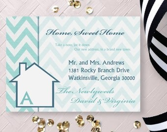 Moving Announcement. Home Sweet New Home Announcement. Change of Address Card. New House Card. We've Moved Announcement Card. New Address