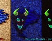 Prince of Darkness Hatpin by Undead Ed Glows in the Dark
