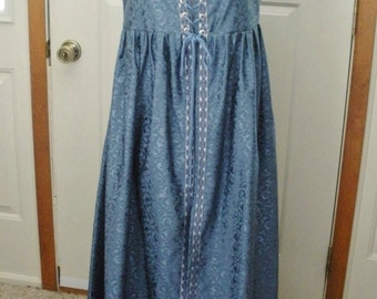 Vintage Medieval Gown - Renaissance Faire Dress