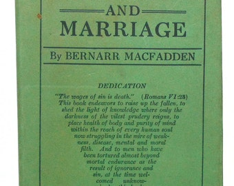 1916 Manhood And Marriage