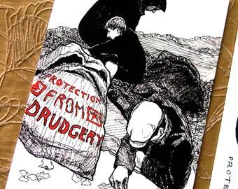 Drudgery Postcard * Portable Fortitude