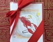 Lobster Note Cards