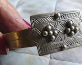"""Vintage Tuareg """"Khalkhal"""" Bracelet, Tuareg Jewellery, Mali, Mauretania, Tuareg Bracelet"""