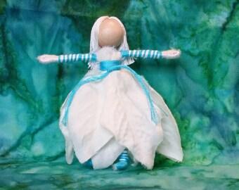 Christmas Fairy doll, Flower fairy - SALE