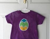 Kids Easter Shirt (3T), Easter Egg Shirt, Toddler Easter Shirt, Purple Easter Egg Shirt, Boys Easter Shirt, Girls Easter Shirt