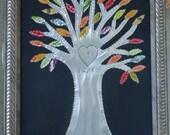 10 year Anniversary - Tin Anniversary Gift - TREE  OF  LIFE -  Wedding Gift - Baby Shower - Nursery