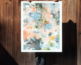 Unravel .  extra large wall art . giclee print