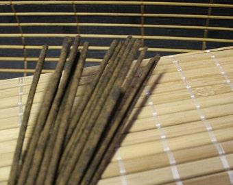 Baton d'encens fait main, handmade incense,