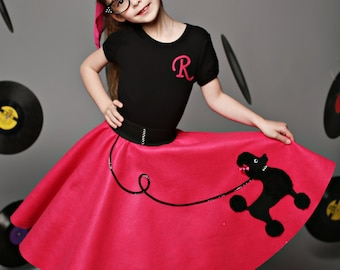 Gorgeous Girls Custom Made Patty poodle skirt Your choice of Size and Color S.M.L,XL  Prices from 44.00 and Up!