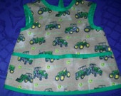Tractor Fabric Coverall Apron size 3