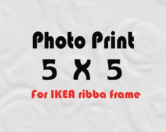 5x5 Print for IKEA Ribba Size 5x5 Prints - 5 x 5 Photos