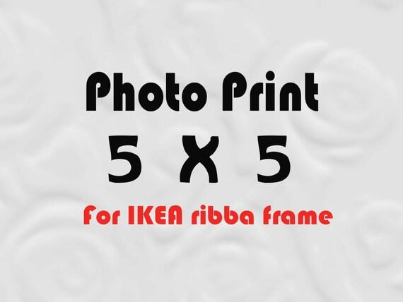 5x5 Print for IKEA Ribba Size 5x5 Prints - 5 x 5 Photos