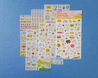6 SHEETS, Cat sticker set, Cat stickers, Kitten stickers, Cat Lover, Cat Lady, Cat Lover stickers, Cat Lady stickers, SSBA stickers