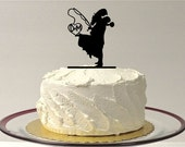 Fishing Themed Wedding Cake Topper,  Personalized Fishing Wedding Cake Topper, Fishing Cake Topper, Silhouette Cake Topper, Fishing Cake