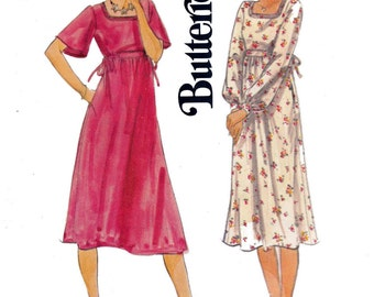 1970s High Waisted Stretch Knit Dress Pattern Butterick 5651 Vintage sewing pattern Size 14  Bust 36 UNCUT FF