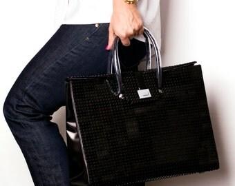 The Brick Bag in black - 32cm size FREE SHIPPING original LEGO® bricks lego gift handbag trending fashion