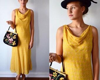 Vintage Floral Dress, April Cornell, Cottate Chic Dress, Casual Dress, Summer Dress, 1980s Dress