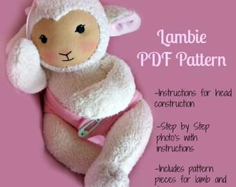 PDF Pattern - Waldorf Lambie