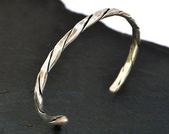 Silver Mens Bracelet, Mens Silver Bracelet, Mens Bracelet, Silver Mens Bracelet, Silver Plated Bracelet, Mens Silver Bangle, Open Bracelet