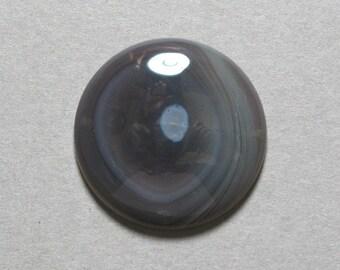 BOTSWANA AGATE cabochon round 25mm disc designer cab