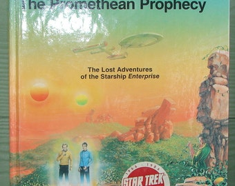 Star Trek The Promethean Prophecy Book