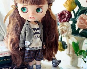 Sugarbabylove -Linen jacket set for Blythe