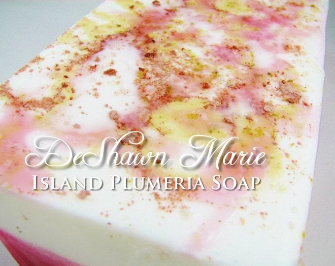 SOAP - 3lb Island Plumeria Handmade Soap Loaf, Vegan Soap, Wholesale Soap Loaf