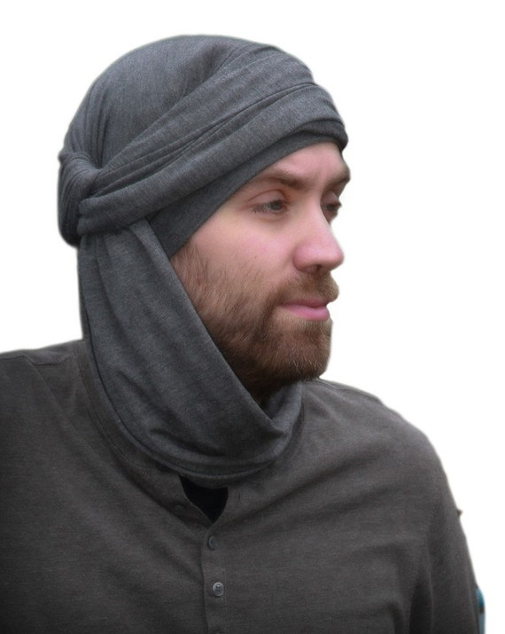 Men's Turban Man's Head Wrap Dreads Wrap Buff