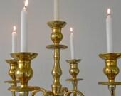 Candelabra Free Standing Tall Candelabra Gold Brass Candelabra Gold Wedding Event Decor Candle Holder Candlestick Holder Large Candleholder