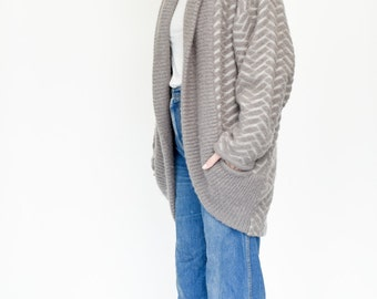 90s Mohair Duster Sweater Cardi