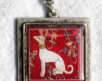 Medieval Dog Pendant
