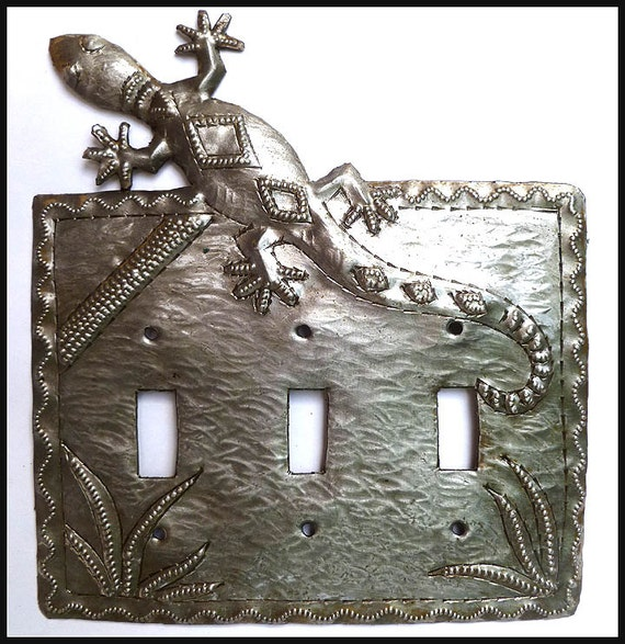 Metal Light Switchplate Cover Gecko Design Metal Switch