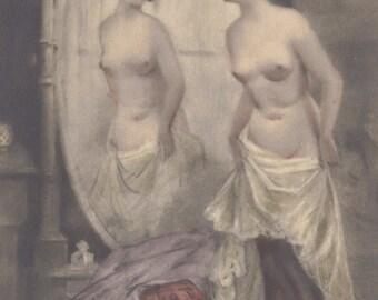 Risque German Postcard circa 1920s by WEKO