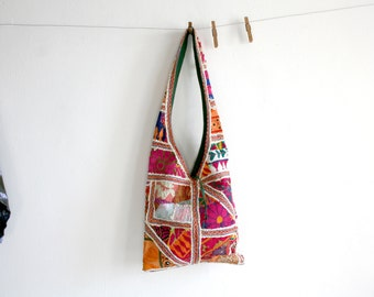 Indian Quilted Textile Purse